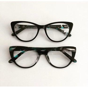 Armação de óculos de grau - Paola 2142 - Preto