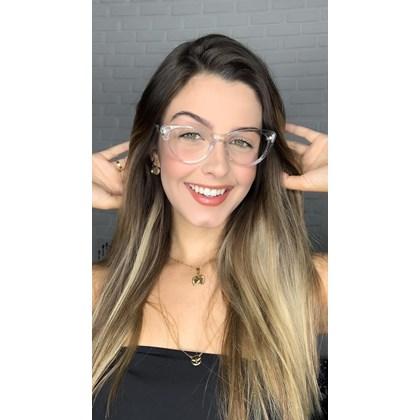 Armação de óculos de grau - Paola 2142 - Transparente