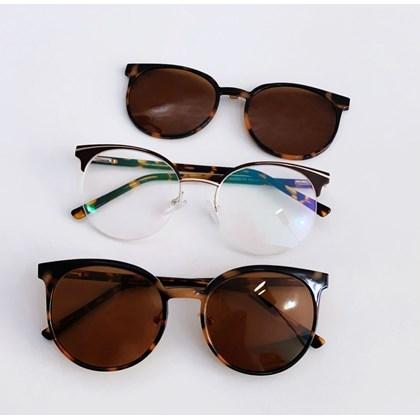 Armação de óculos de grau - Paris 2530 - Animal print C2