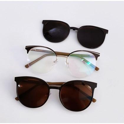 Armação de óculos de grau - Paris 2530 - Marrom C3