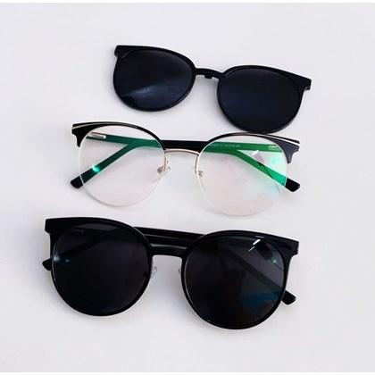 Armação de óculos de grau - Paris 2530 - Preto C1