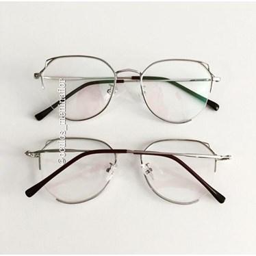 Armação de óculos de grau - Paris - Prata
