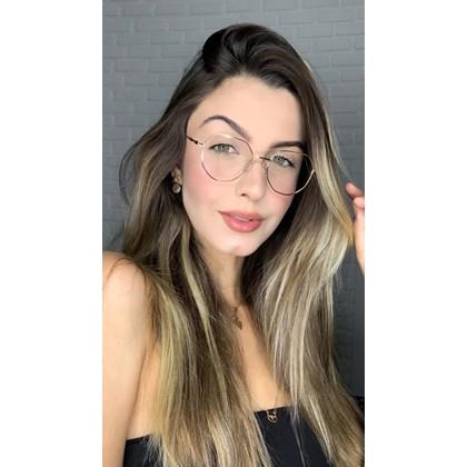 Armação de óculos de grau - Petit  2157 - Rose Gold
