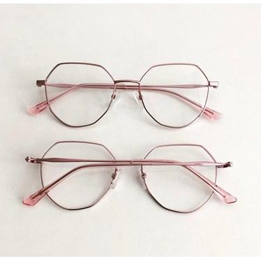 Armação de óculos de grau - Petit  2157 - Rose Metálico