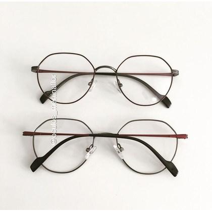 Armação de óculos de grau - Petit - Vinho com grafite C4