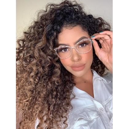 Armação de óculos de grau  - Preciosa - Transparente