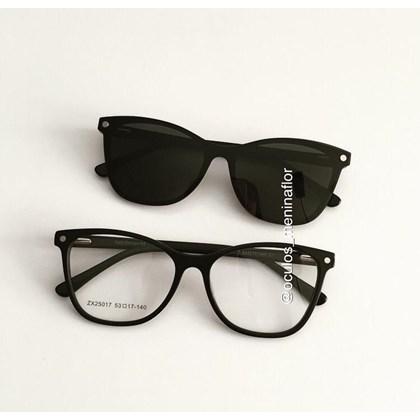 Armação de óculos de grau - Protagonista 25017 - Preto