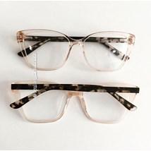 Armação de óculos de grau - Pucci - Dourada transparente
