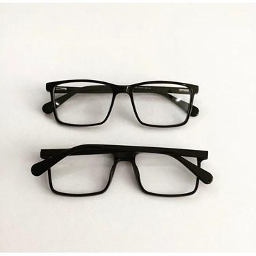 Armação de Óculos de Grau - Rafael 3658 - Preto
