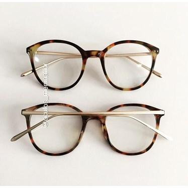Armação de óculos de grau - RBMF - Animal print Clara