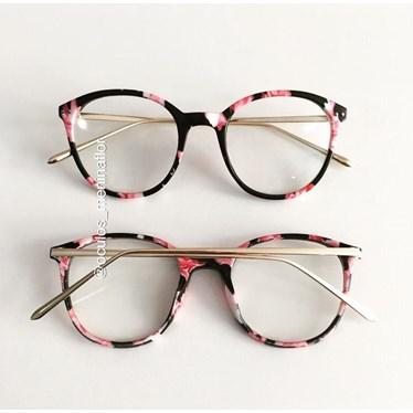 Armação de óculos de grau - RBMF - Floral