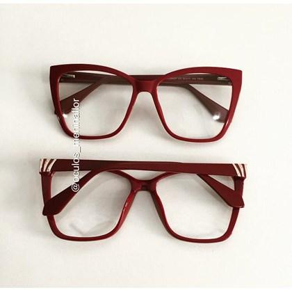 Armação de óculos de grau - Regina 8021 - Bordo C3