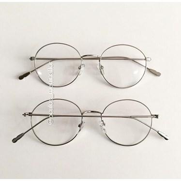 Armação de óculos de grau - Round Piccolo - Prata