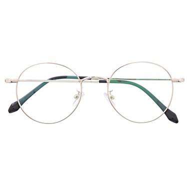 Armação de óculos de grau - Round Potter - Prata