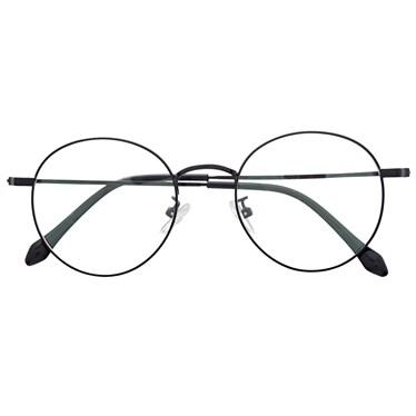 Armação de óculos de grau - Round Potter - Preto