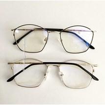 Armação de óculos de grau - Secrets - Preto com dourado