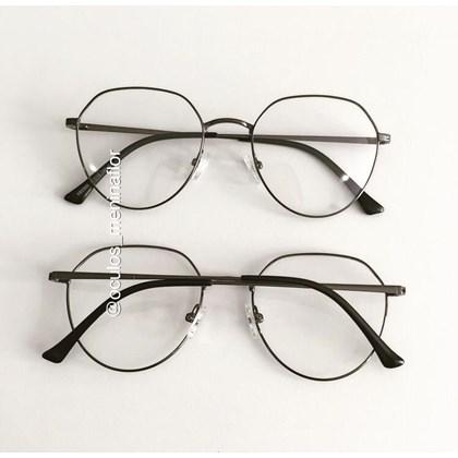 Armação de óculos de grau - Sereia 2006 - Grafite