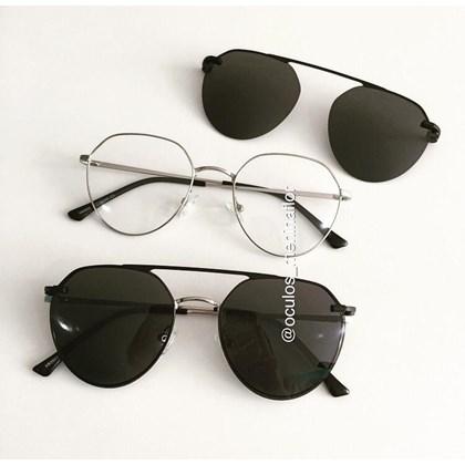 Armação de óculos de grau - Sereia 2006 - Prata