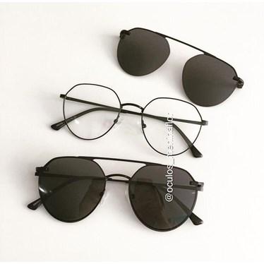 Armação de óculos de grau - Sereia 2006 - Preto