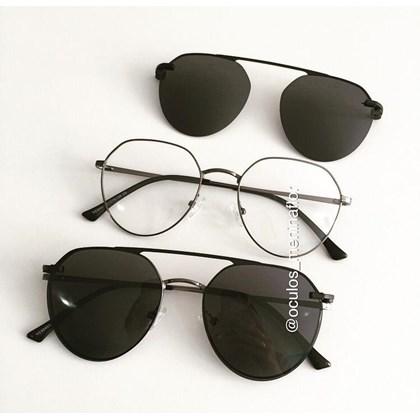 Armação de óculos de grau - Sereia 3046 - Grafite