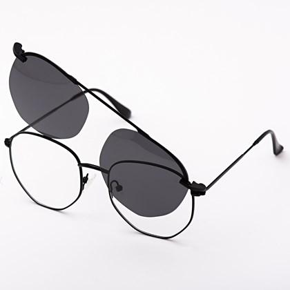 Armação de óculos de grau - Sereia 3046 - Preto