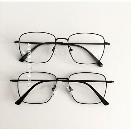 Armação de óculos de grau - Sereia quadradinha - Preto
