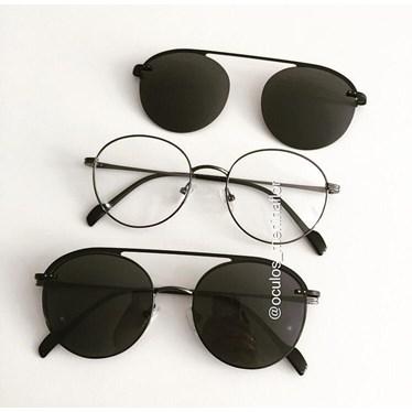 Armação de óculos de grau - Sirena 2004 - Grafite