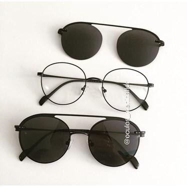 Armação de óculos de grau - Sirena 2004 - Preto
