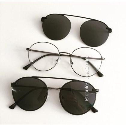 Armação de óculos de grau - Sirena 3050 - Grafite
