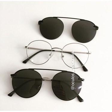 Armação de óculos de grau - Sirena 3050 - Prata