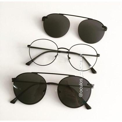 Armação de óculos de grau - Sirena 3050 - Preto