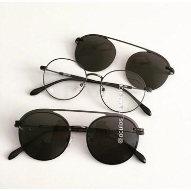Armação de óculos de grau - Sirena - Grafite