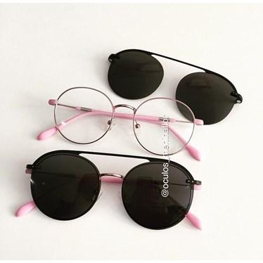 Armação de óculos de grau - Sirena - Rose