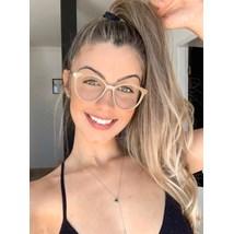 Armação de óculos de grau - Tati - Nude chocolate