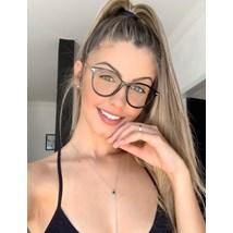 Armação de óculos de grau - Tati - Preto