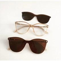 Armação de óculos de grau - Texas 5104/6104 - Dourado transparência C3
