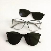 Armação de óculos de grau - Texas 5104/6104 - Verde Azulado Transparência C6