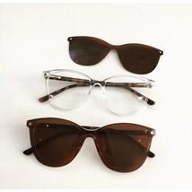 Armação de óculos de grau - Texas 5104 - Transparente haste Animal Print C5