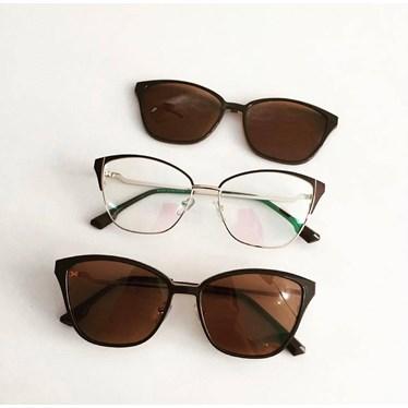 Armação de óculos de grau - Thalia 25327 - Marrom lente Marrom C3