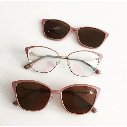 Armação de óculos de grau - Thalia 25327 - Nude C5