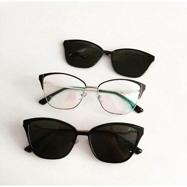 Armação de óculos de grau - Thalia 25327 - Preto C1