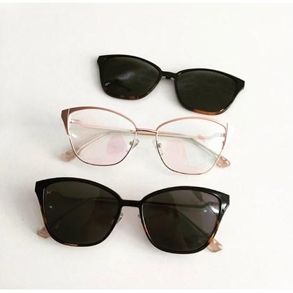 Armação de óculos de grau - Thalia 25327 - Rose Lente Preta C4