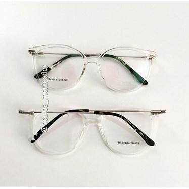 Armação de óculos de grau - Verona 6357 - Transparente