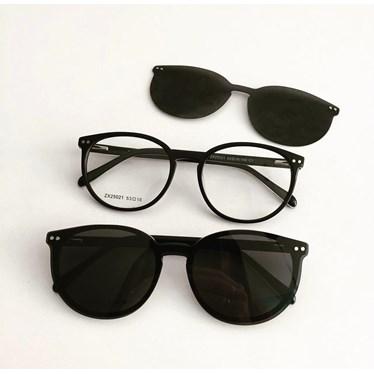 Armação de óculos de grau - Virginia 25021 - Preto C1