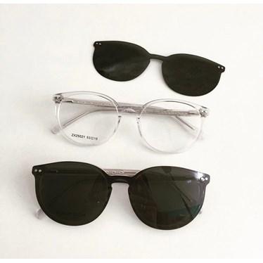 Armação de óculos de grau - Virginia 25021 - Transparente C5