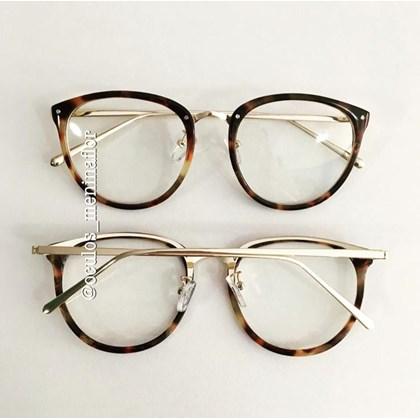 Armação de óculos de grau - X807 - Animal print