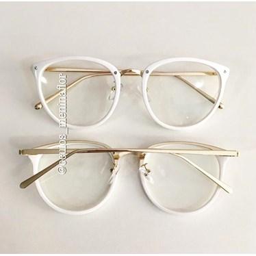 Armação de óculos de grau - X807 - Branco