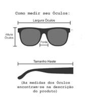 Armação de óculos de grau - Zara - Rose transparência