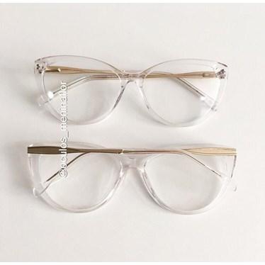 Armação de óculos de grau - Zara - Transparente