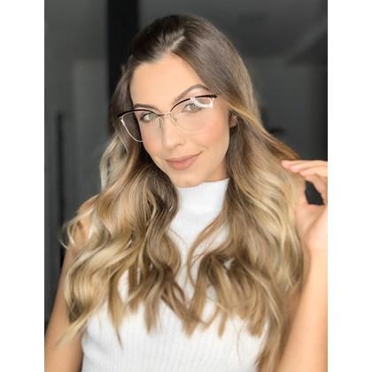 Armação para óculos de grau - Bárbara 6833 - Preto C1